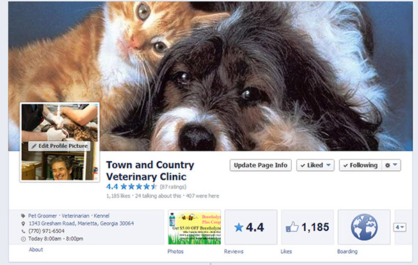 Pet Of The Month Town Amp Country Veterinary Clinic